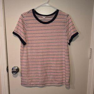 Old Navy Striped Shirt L
